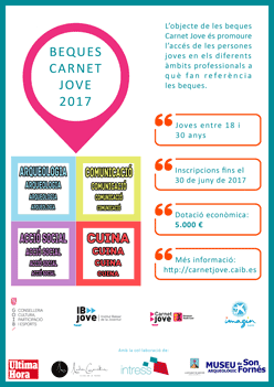 Beques Carnet Jove Illes Balears