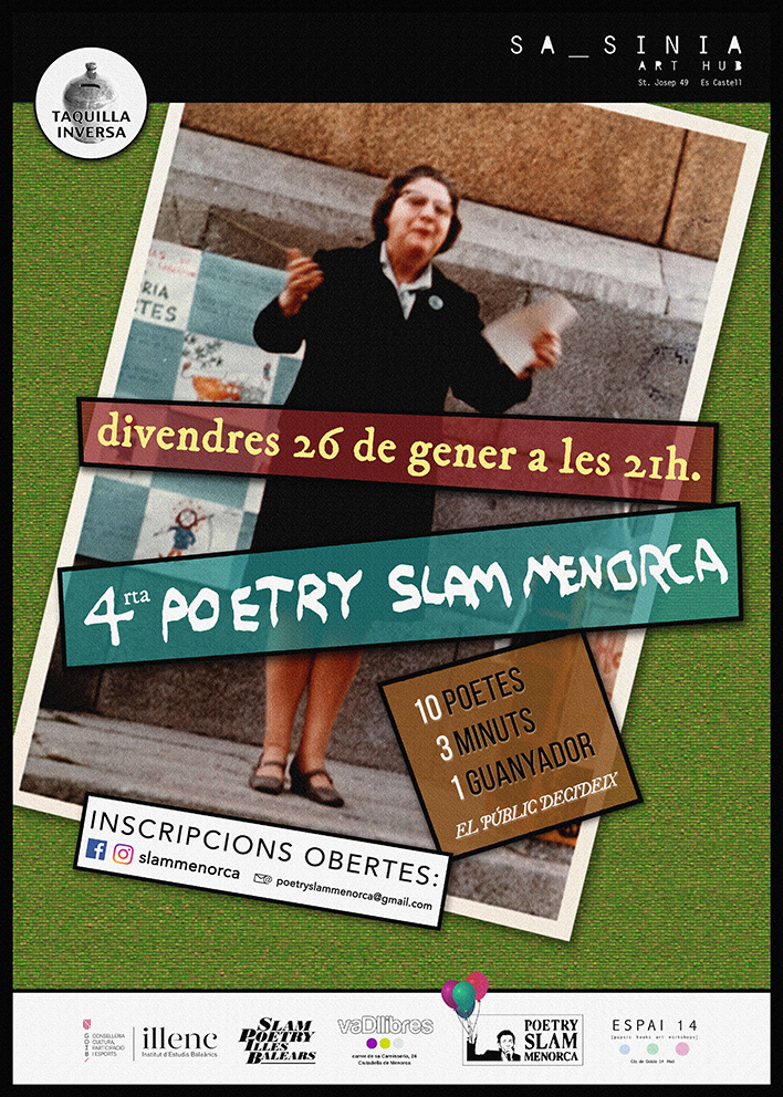 IV Poetry Slam Menorca