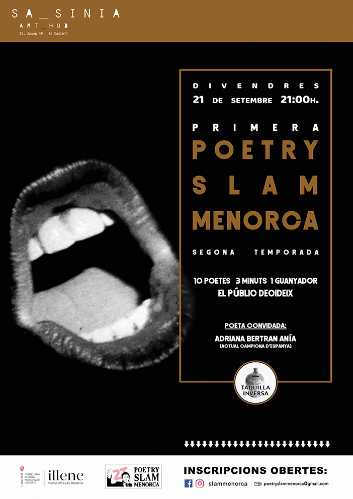 1a Poetry Slam Menorca (2a temporada)