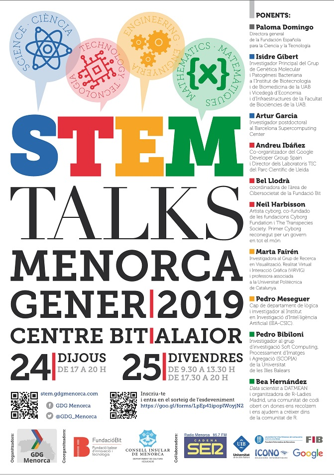 Steam Talks Menorca