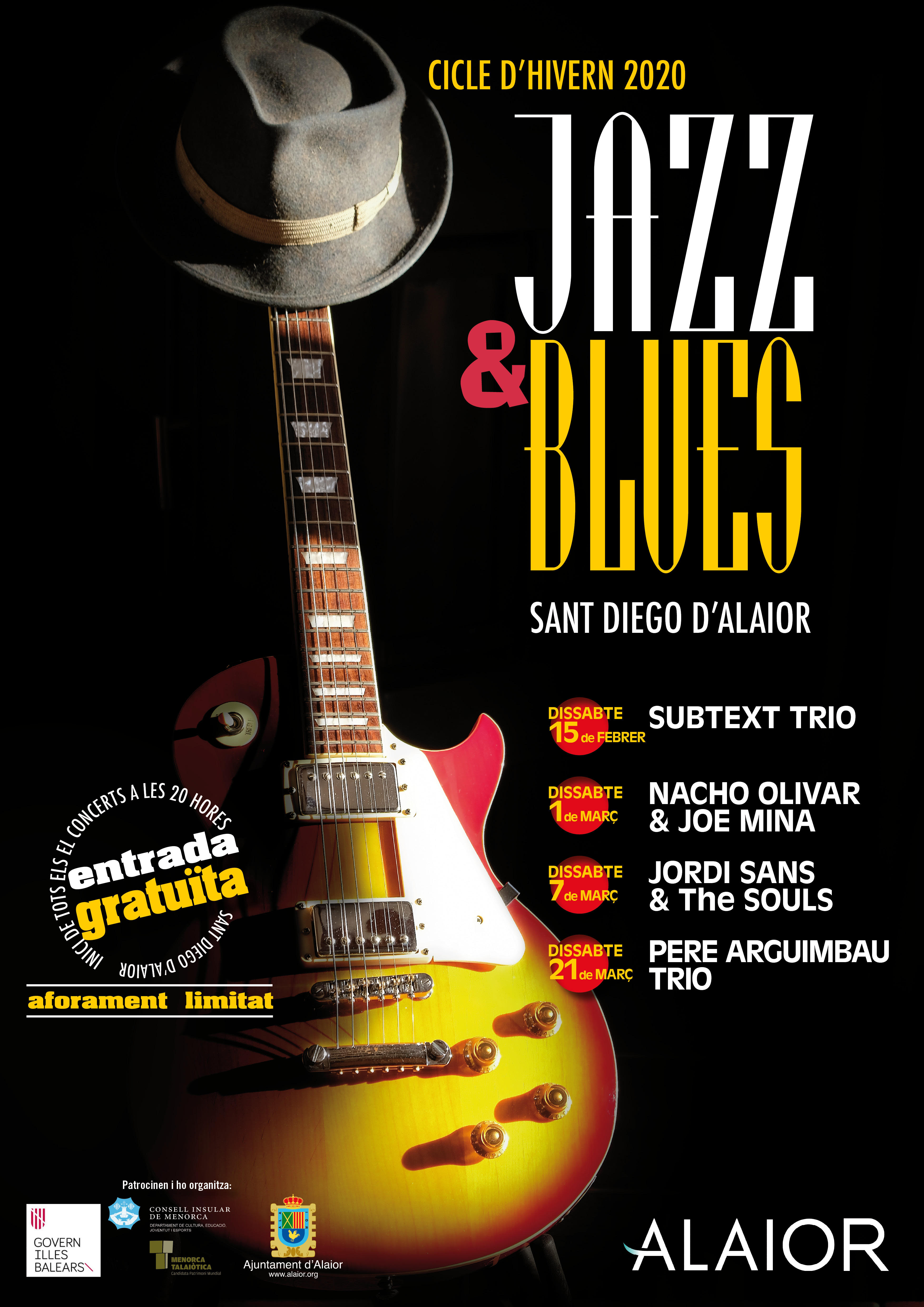 Jazz & Blues: Nacho Olivar i Joe Mina